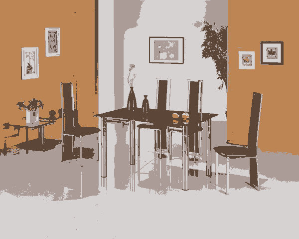 Fig 1 Table And Chairs